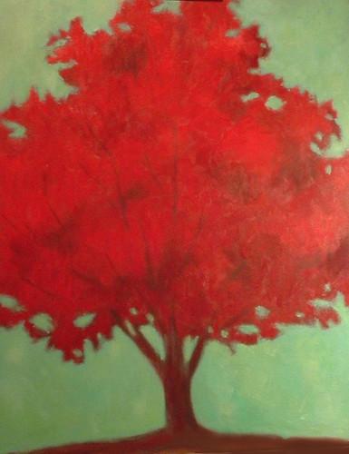 le rouge arbre