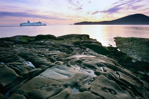 BC Ferry passing Rip Point