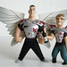 view askew/graphitti designs dogma inaction figures: bartleby and loki