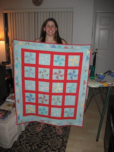 my baby quilt