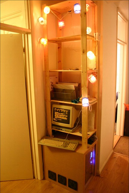 Server Cupboard - in place
