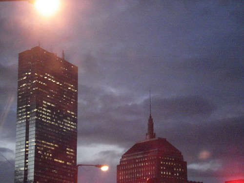 A great shot of the Hancock buildings