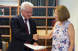 Υπουργός Δικαιοσύνης – Σύνδεσμος για την Πρόληψη και Αντιμετώπιση της Βίας στην Οικογένεια