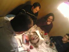Xavi, Palimp, Jordi y Jordi