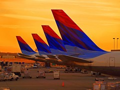 colorful tails in atlanta (Keith.Fulton) Tags: atlanta colors airplane airport tail delta saturation fulton fs krfulton krfultonphotography fultonimages fultonphotography