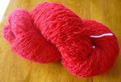 red wool