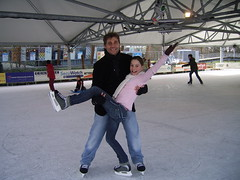 Dancing on ice (part 1) (SUPER BOCK) Tags: winter ice dancing sneeuw super giulia bock superbock ijs schaatsen mvrf