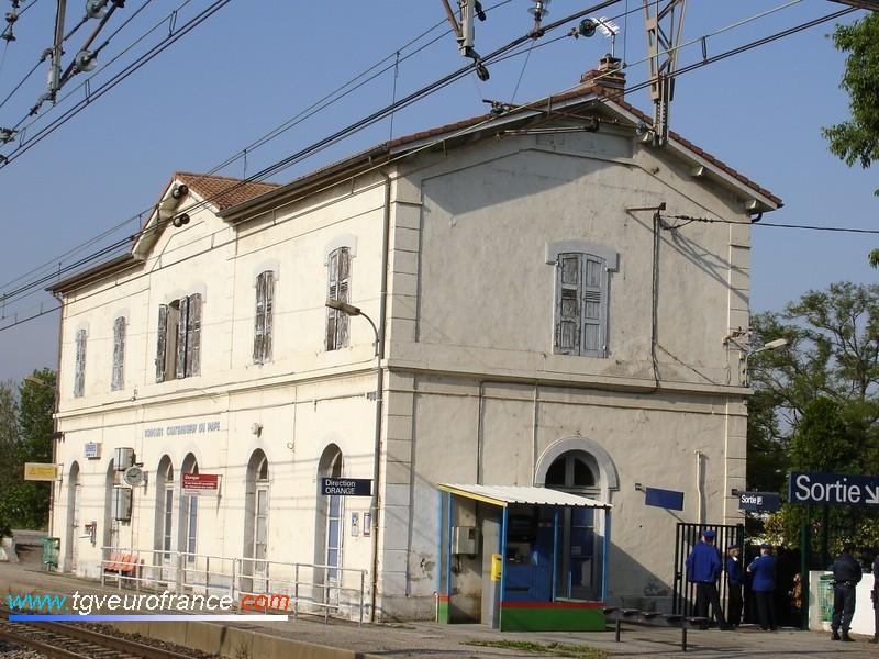 Le BV de la gare de Sorgues - Châteauneuf-du-Pape (84700)