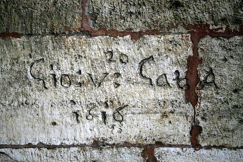 Some very old graffiti