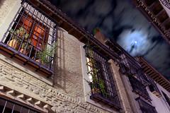 Luna de Andaluca (LucaPicciau) Tags: longexposure moon night clouds spain nuvole south andalucia luna e granada andalusia notte spagna sud lupi lupi75 albacn