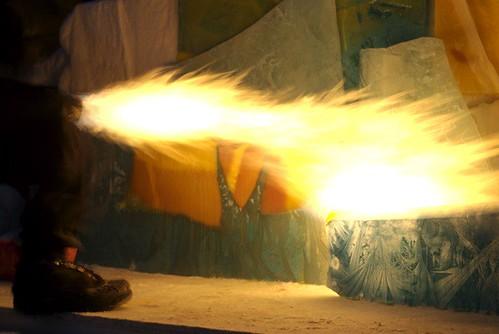 Torch shot