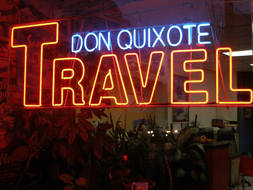 Don Quixote Travel Agency...the supreme irony