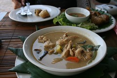 secret chicken 'soup' (nanamoose) Tags: laos laungprabang