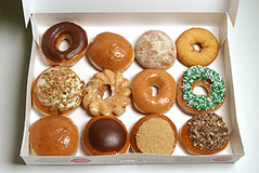 Krispy Kreme Doughnuts (Mark Klotz) Tags: food canada love yummy sweet britishcolumbia dough treats tasty krispykreme sugar donuts sweets snacks 12 doughnuts foodanddrink deserts goodfood markklotz godilovethese
