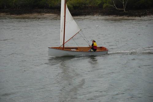Goat Island Skiff Planing Gently