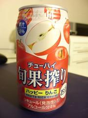 Asahi 旬果榨水果酒-蘋果口味