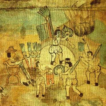 Lienzo de Quauhquechollan (detail)
