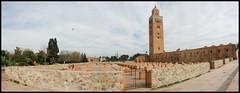 Koutoubia Mosque - Marrakesh (Patrick Mayon) Tags: panorama pano mosque morocco maroc canon350d marrakech mosquee marrakesh koutoubia stiting lakoutoubia