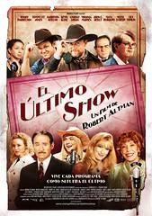 Póster español de 'El último show' de Robert Altman