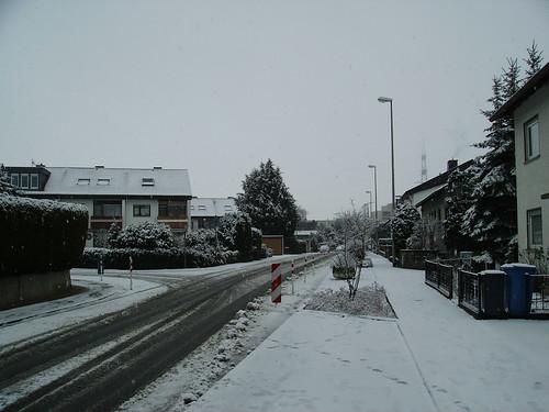 schnee im hochtaunus
