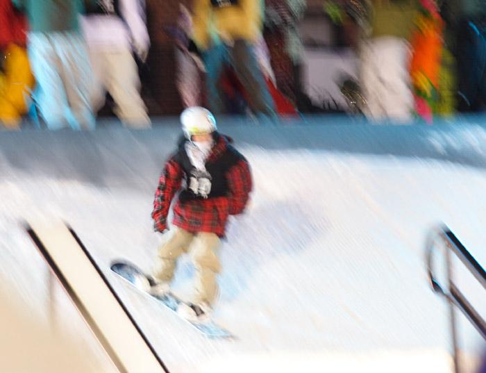 Watercolor Snowboarder