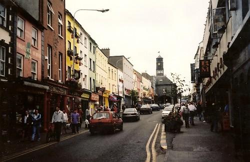 Main Street in Kilkenny, Ireland