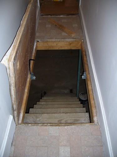 Trap Door To Basement