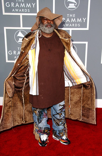 George Clinton 49th Annual Grammys