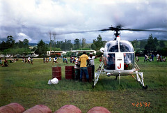 Refuelling chopper during soccer match (Mangiwau) Tags: new islands guinea football pacific soccer south safety helicopter lama png papuanewguinea papua violation hagen nouvelle seas rotor newguinea violations portmoresby oceania violate decapitation rabaul wau melanesia madang mudmen goroka asaro pacifique ehp lae guinee niugini oceanie easternhighlands tailrotor alotau morobe papouasie papouasienouvelleguinee pacifichelicopters kainantu nouvelleguinee