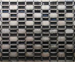 Grid (Ben_Patio) Tags: windows london public geotagged concrete grid guess dirty where guesswherelondon e1 brutalism faved gwl goulstonstreet postedbybenpatio benpatio guessedbytopcitybird geo:lat=51515206 geo:lon=0074008