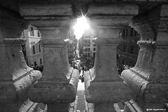 Spanish Steps - BW - by discopalace