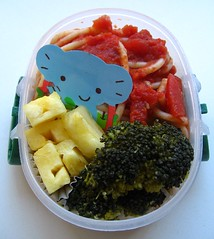 Spaghetti lunch for toddler お弁当
