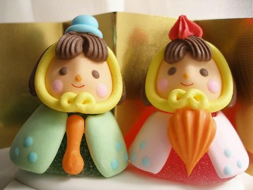 お雛様 (gummy dolls) by tanakawho.