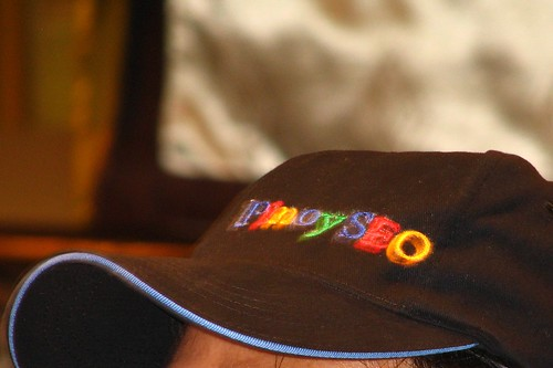 PinoySEO hat I got from Whin Clores
