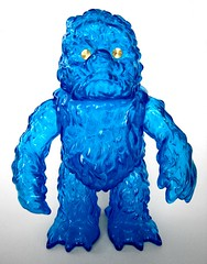 Clear Blue Hedoran - Gargamel Lucky Bag (geozilla) Tags: blue monster japan toy japanese smog vinyl godzilla clear kaiju  gargamel luckybag neokaiju hedorah daikaiju sofubi hedoran geozilla  omnimonster