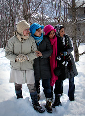 Where do they look at? (Hamed Saber) Tags: pink blue girls snow black hat geotagged persian interestingness flickr meetup iran cream persia saber gathering iranian tehran  groupshot hamed upcoming flickrmeetup neda farsi  parisa flickrites  shemshak flickies flickrexplore narges     somayeh      jeirood upcoming:event=154580 flickrsnowwari geo:lon=51479358 geo:lat=36002034