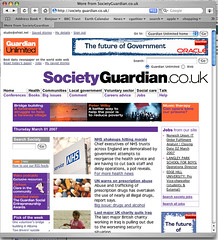 Society guardian article