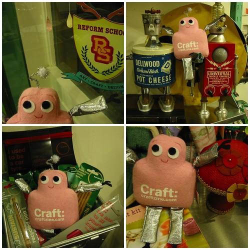 Pink Craftie at ReForm School