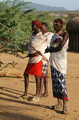 Samburu men (imanh) Tags: africa people men village kenya afrika samburu kenia dorp stam iman mannen heijboer imanh
