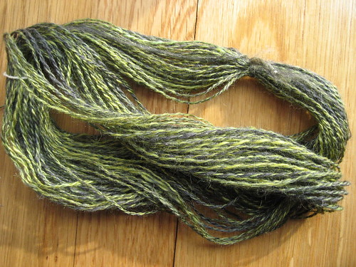 carder 'speriment - merino/silk and tussah silk