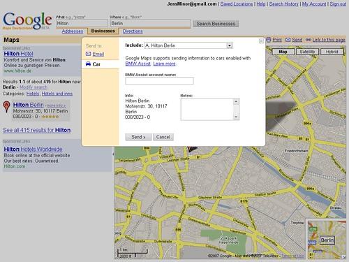 Maps Send