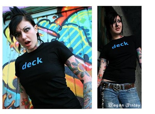 "girls ""deck"" t-shirt"