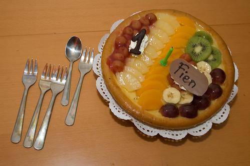 Taart en vorkjes