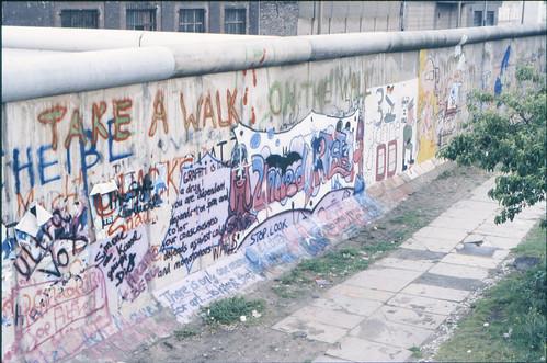 Berlin Wall graffiti 1985