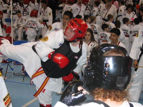 "Sparring - Lincroft ""A"" Tourney - 3/10/07"