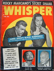 Vampira's curse killed James Dean (apricotX is back!) Tags: vintage magazine whisper jamesdean vampira earthakitt