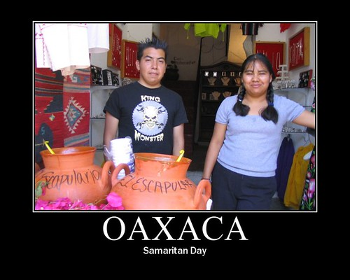 Samaritan Day in Oaxaca
