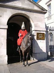 Whitehall y la guardia a caballo