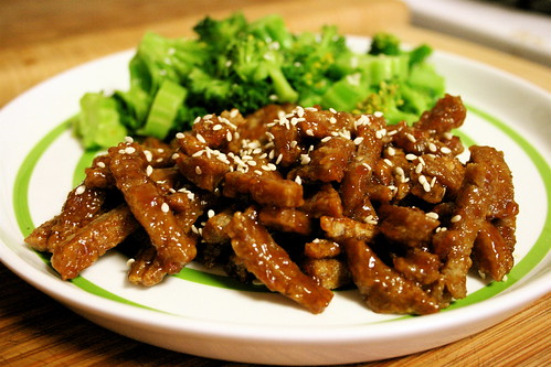 Sweet and Sour Seitan (like No Name from Grasshopper)