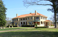 Bona Allen Mansion Buford Ga.  National Register for Historic Places (Robert Lz) Tags: mansion saddles tannery shoefactory nationalregisterofhistoricplaces bonaallen elzey goatcart bufordga robertelzey robertlz bufordgeorgia bonaallenhouse bonaallenmansion rhallen
